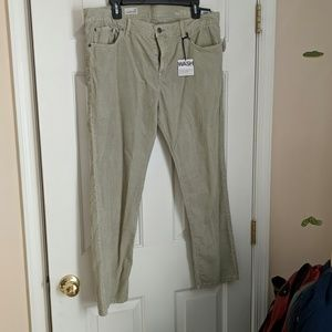 Courdoroy pants
